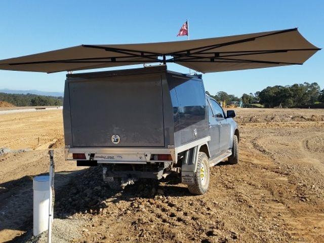 Clevershade 4wd Vehicle Awning Camper Awnings Tent Tarp Van Life