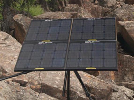 Goal Zero Yeti 1250 Solar Generator Kit With 2 Boulder Panels Complete Kit Solar Panels Solar Generator Portable Solar Panels