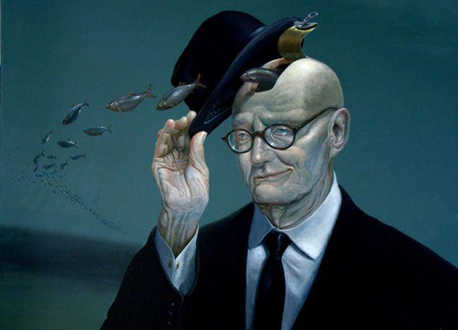 Ole Fick  (Danish b. 1948)  Is a Painter / graphic designer