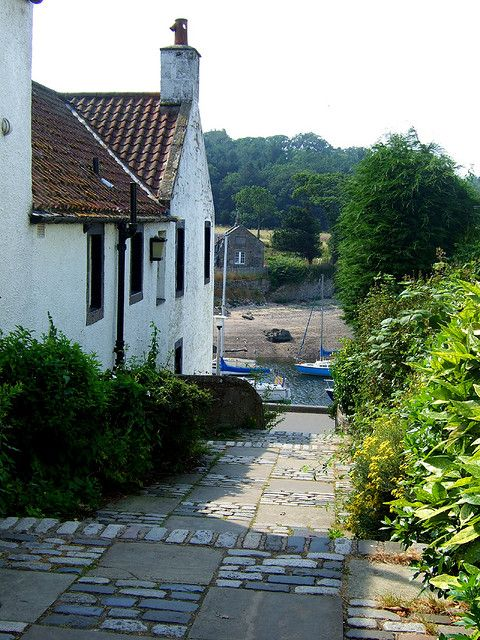Cramond Village, Edinburgh, Scotland