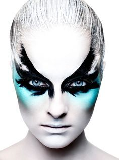 Theatrical Makeup Ideas Fantasy/theatrical #makeup