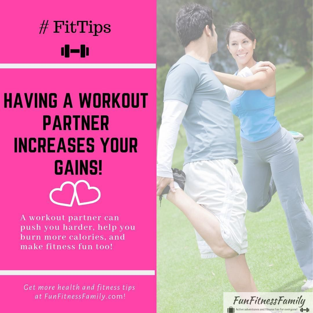 Exercising With A Partner Is A Great Way To Hold Yourself