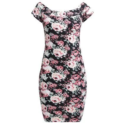 Kleid Mit Floralem Muster Even Odd Stylefruits De Kleider Floral Muster Modestil