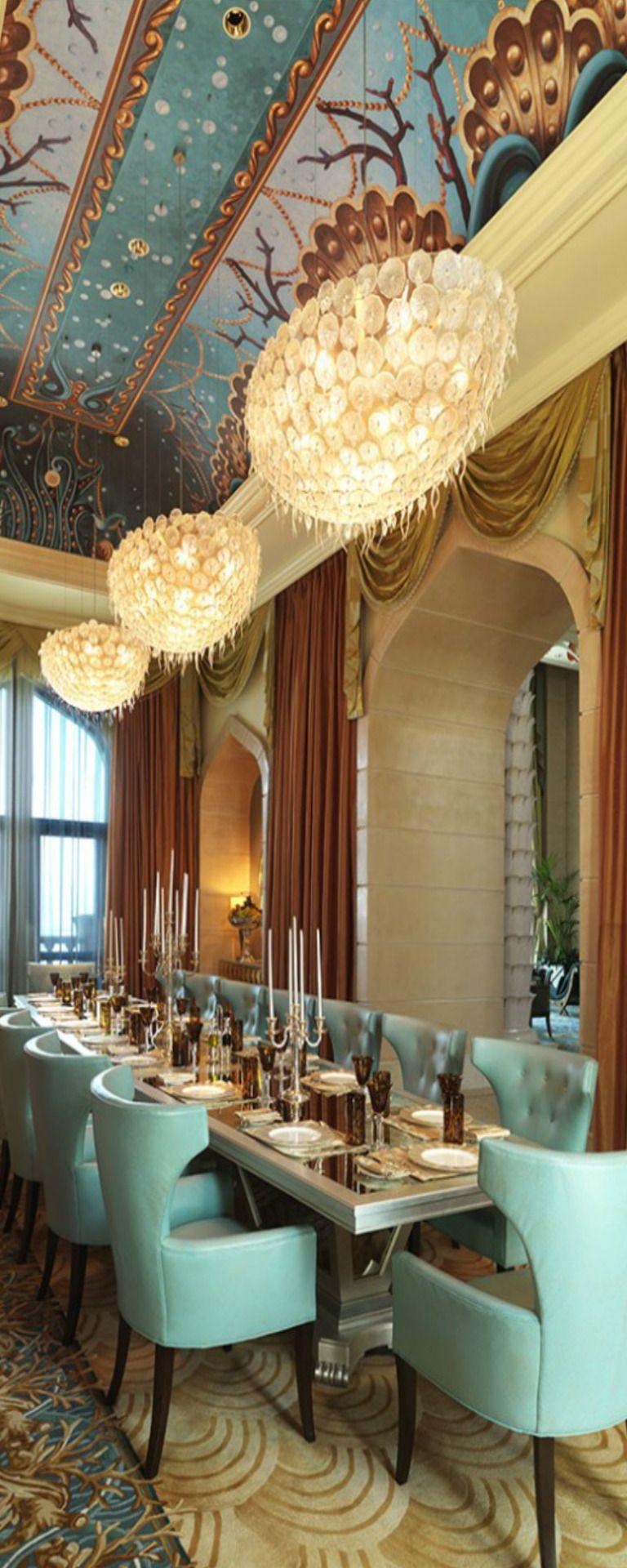 Royal Bridge Suite Dining Atlantis Palm Dubai Beautiful Dining