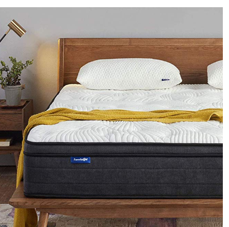 Help Solve Your Sleep Problems Sweetnight 12 Inch Queen Mattress
