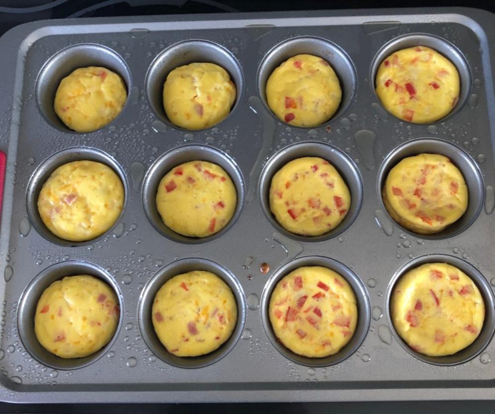 Starbucks Copy Cat Ham & Cheese Egg Bites Egg bites