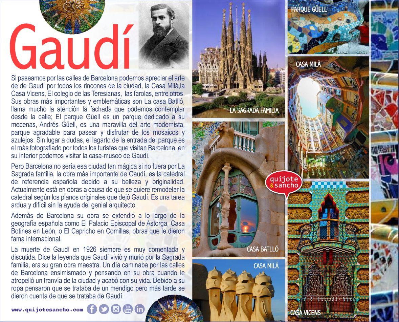 El arquitecto antoni gaud arte en espa a arte espa ol - Arquitectos en espana ...