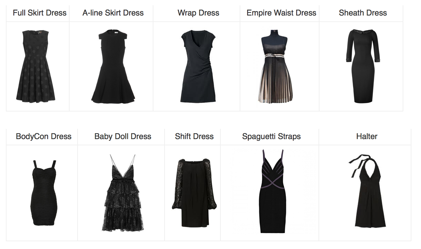 Dresses for the Fashion Conscious Dress body type, Fashion