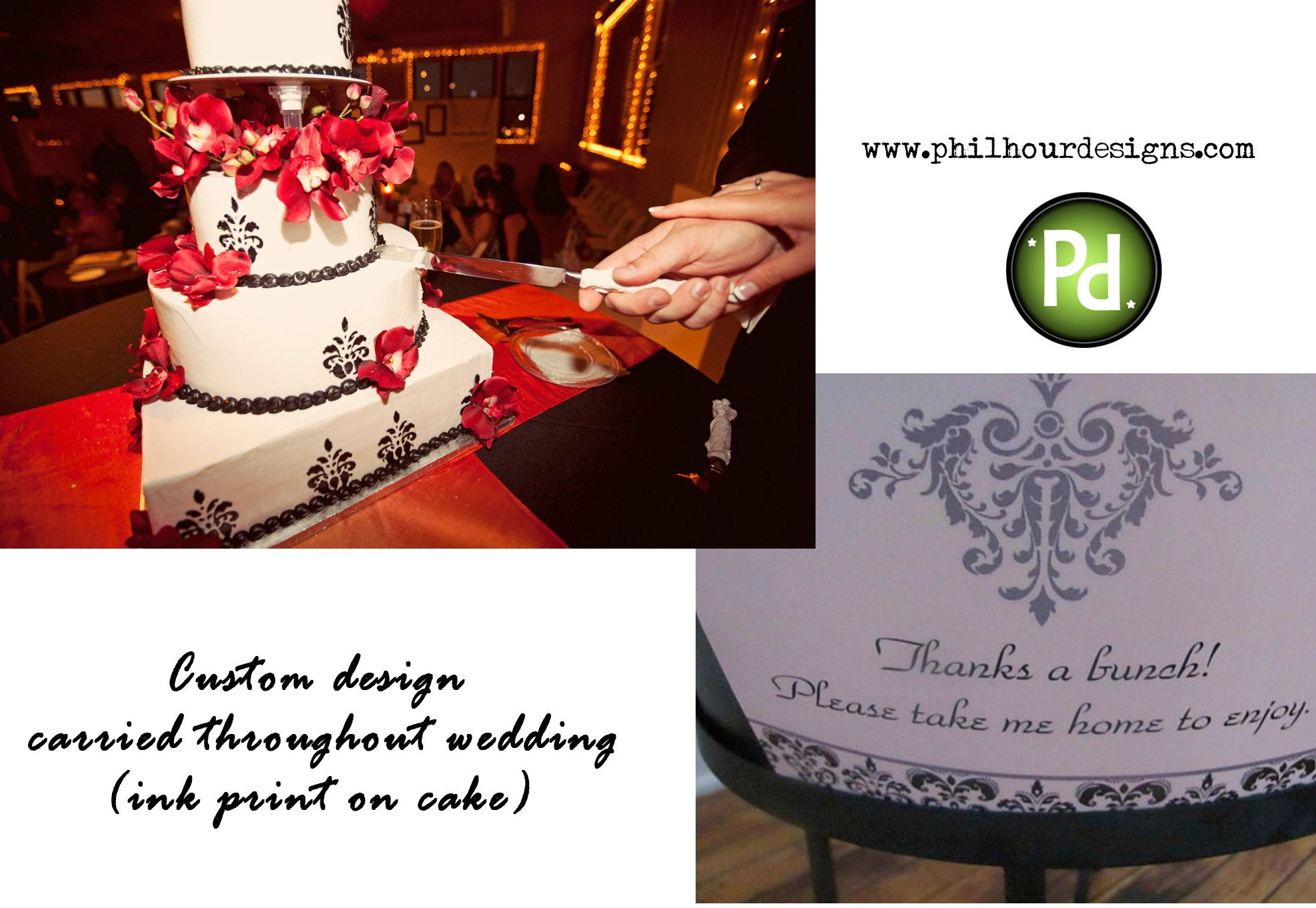 Wedding Planner, Wedding Brand, Theme your Event, Graphic Design ...