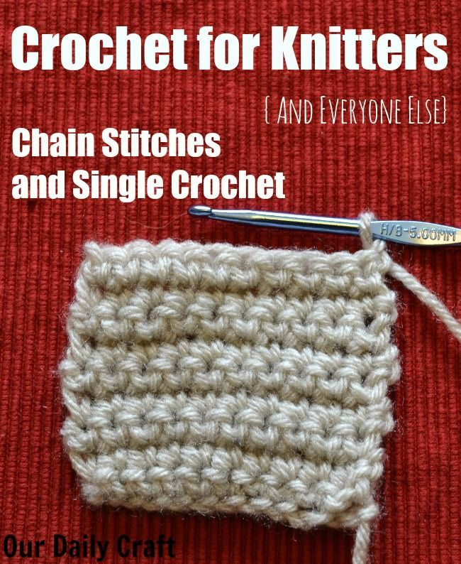 In the first of my crochet for knitters (and others!) series, we explore foundation chains and the single crochet stitch. Tutorial and washcloth pattern.