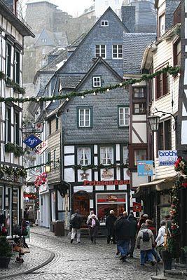 Monschau, Germany -  Christmas Market