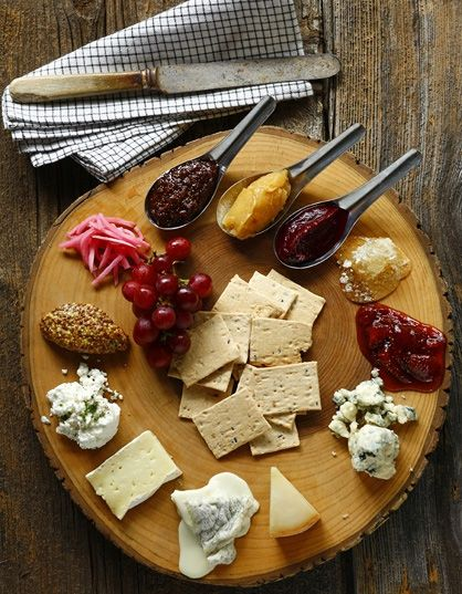 Plate presentation · How to rock rustic - cheese board & How to rock rustic - cheese board | food | Pinterest | Cheese ...