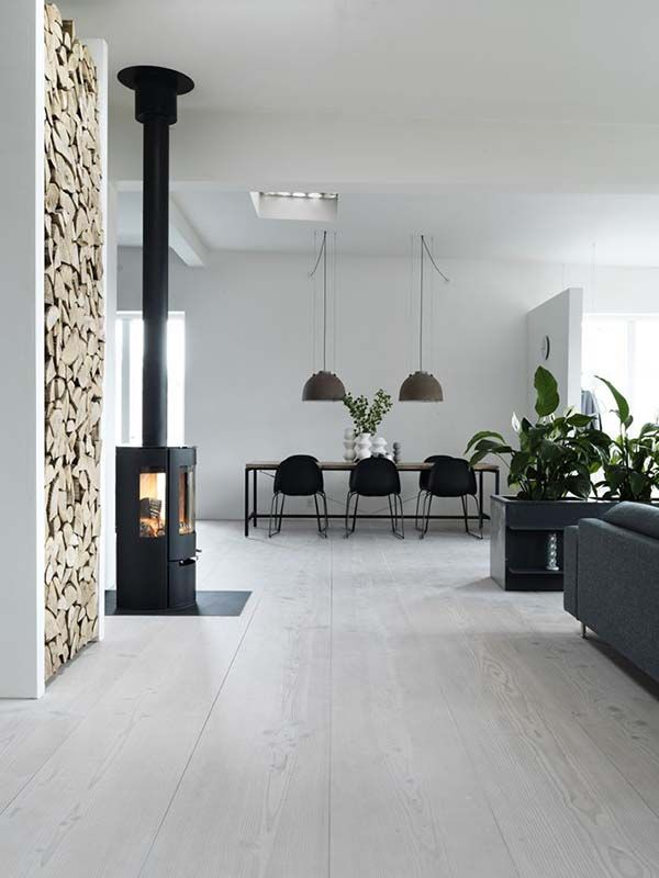 Viking Pencil Factory in Denmark Turns Into a Cozy Contemporary Loft | Home Design Lover