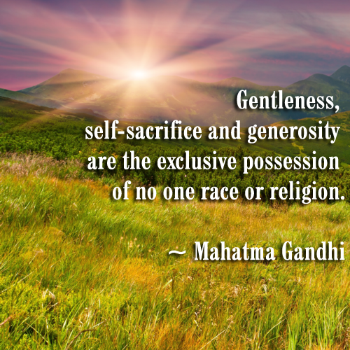 Food For Thought Gentleness Self Sacrifice Sacrifice Quotes How Are You Feeling Self