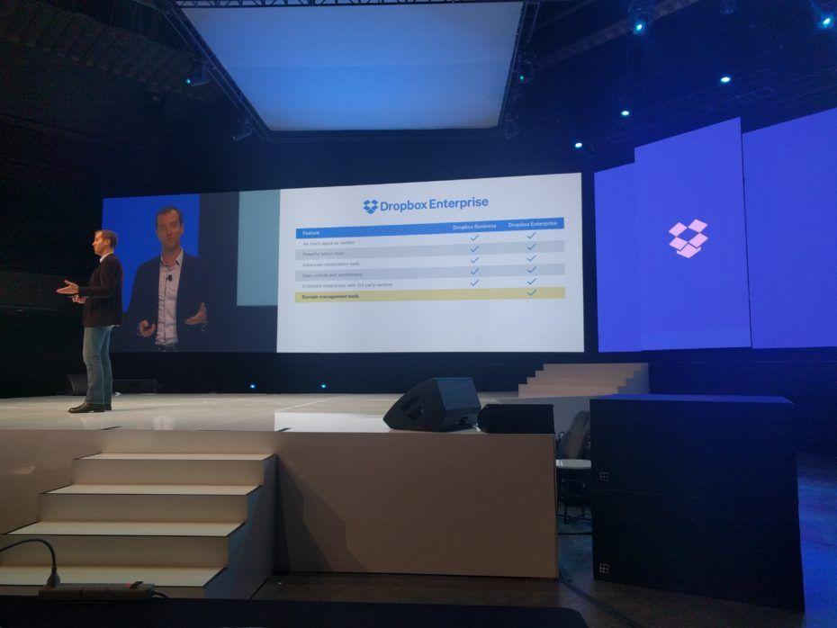 Dropbox announces new enterprise tier of service with