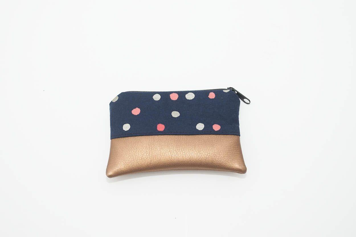Nähanleitung: Mini Portemonnaie nähen | Taschen | Sewing