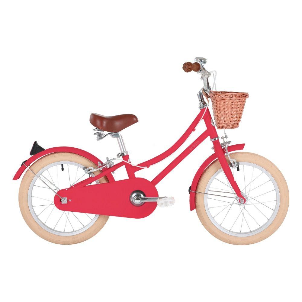 Kinderfahrrad Gingersnap 16 Bobbin X Smallable Kirschrot Kinderfahrrad Kinder Fahrrad Fahrrad