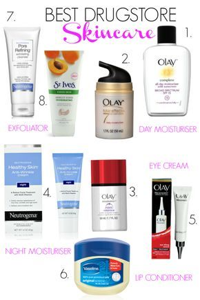 5 Essential Drugstore Skincare Products You Need Professional Skin Care Products Drugstore Skincare Skin Care
