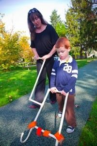 Suggestions for using an anticipator for young children with visual impairment