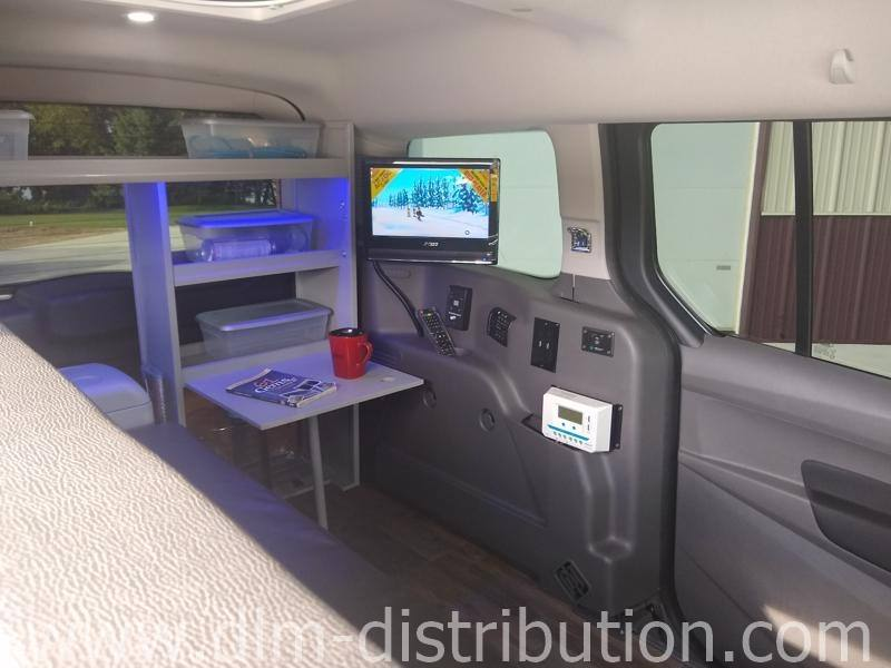 Mini Campervans Traveling Comfort Transit Connect Camper Van