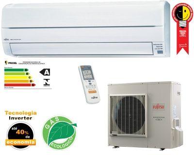 Fujitsu Inverter Ar Condicionado Split 12000 Btu S Quente Frio
