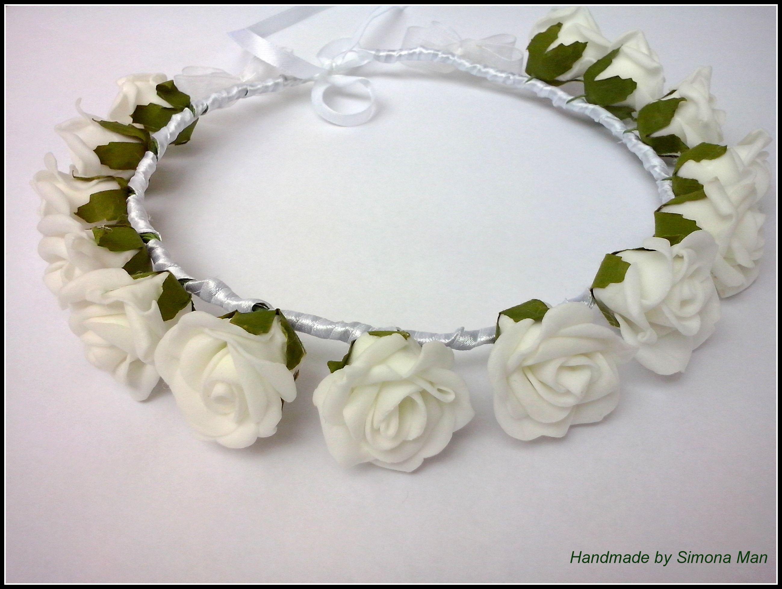 Coronite de mireasa din flori