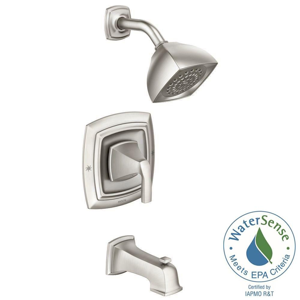 Moen Hensley Single Handle 1 Spray Tub And Shower Faucet With