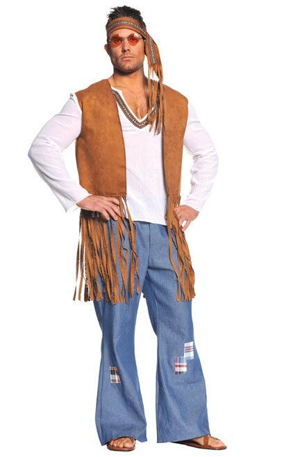 Hippie Costume - Adult Costumes DIY costume (carnaval) Pinterest