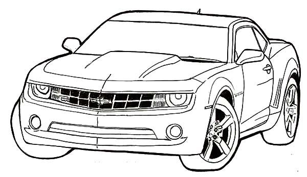 Bumblebee Car Coloring Pages Best Place To Color Carros Para Colorir Desenhos Para Colorir Carros Desenhos De Carros
