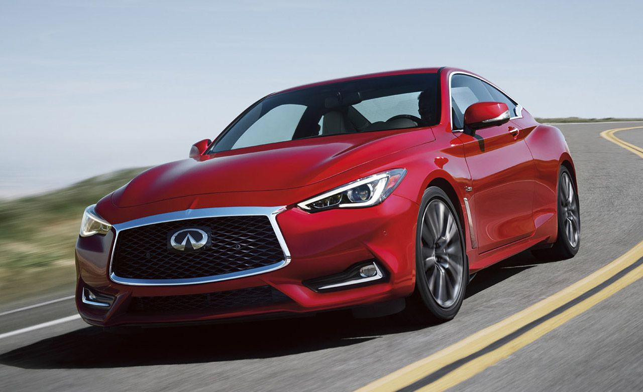 2020 Infiniti Q60 Review Pricing And Specs Infiniti Infinite Car Coupe