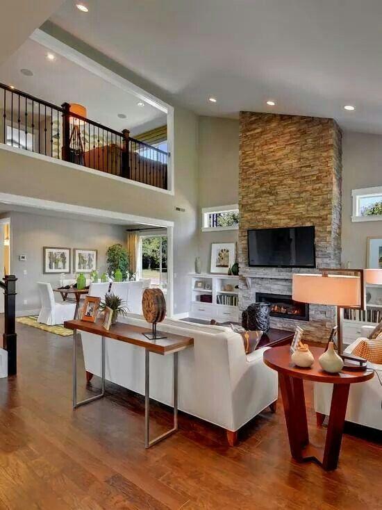Double Volume Living Space Idee Per La Casa Arredamento Interni