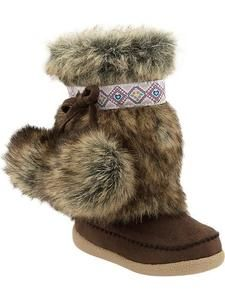 65ce9b8a7e31e NEW Old Navy Faux Fur Pom Pom Toddler Baby Girl Boots Shoes 5 6 7 8 9 10