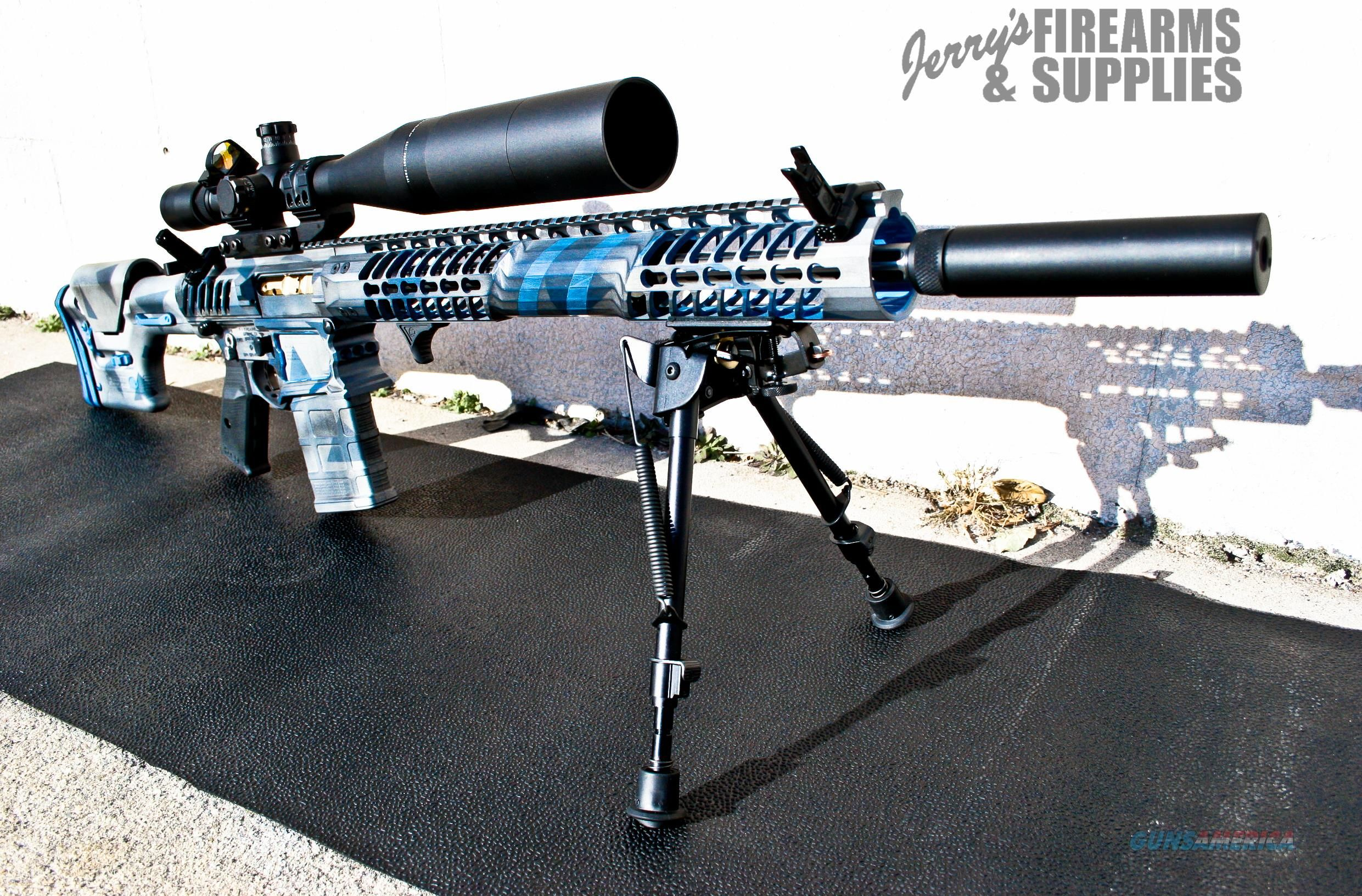 Fully Modified F-1 Firearms 308 Rifle - Skeletonized AR-10