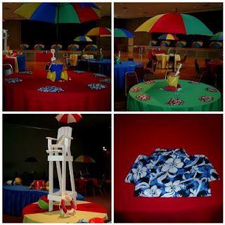 Beach Ball Party Decorations Beach Ball Party Centerpiece  Beach  Pool Party  Pinterest