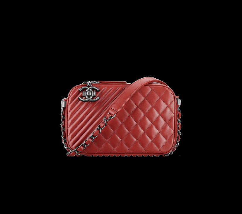e94c076e3c1133 Chanel Red Coco Boy Camera Case Small Bag | CHANEL forever | Chanel ...