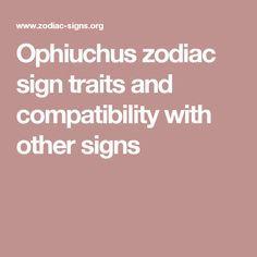 sagittarius ophiuchus compatibility