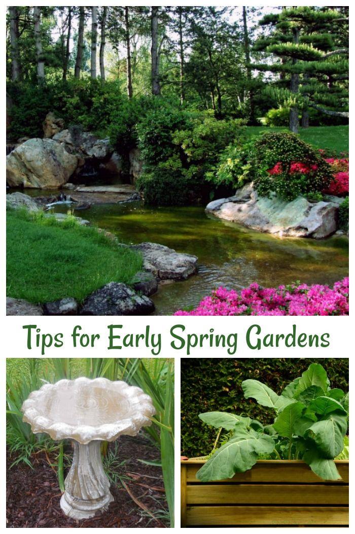 Early Spring Garden Tips Get Your Garden Ready For Spring