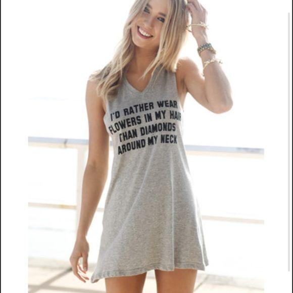 Sabo skirt muscle tee /dress Worn a lot. Sabo Skirt Tops Muscle Tees