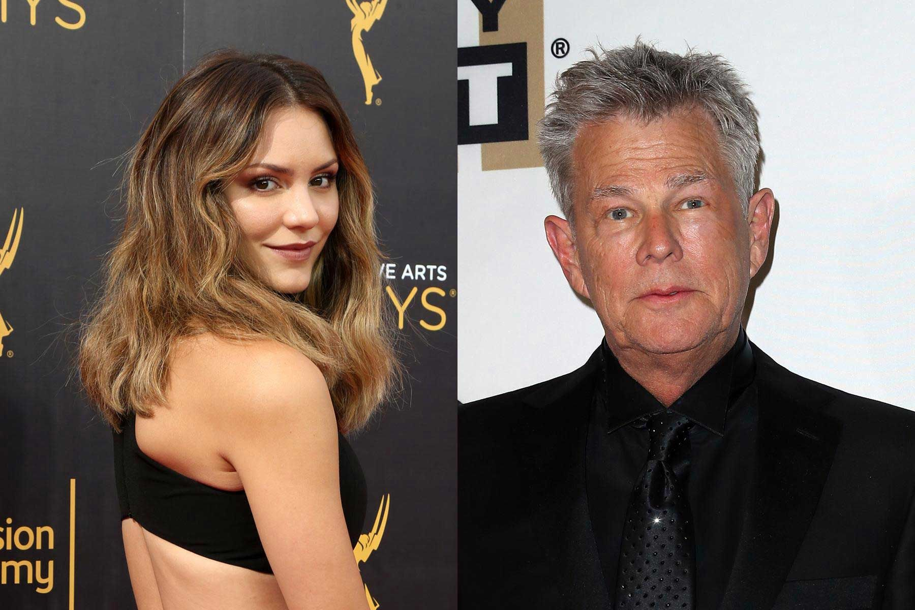 The 68 Year Old Singer David Foster Was Caught Kissing His 35 Year Old Lover Old Singers The Fosters Singer