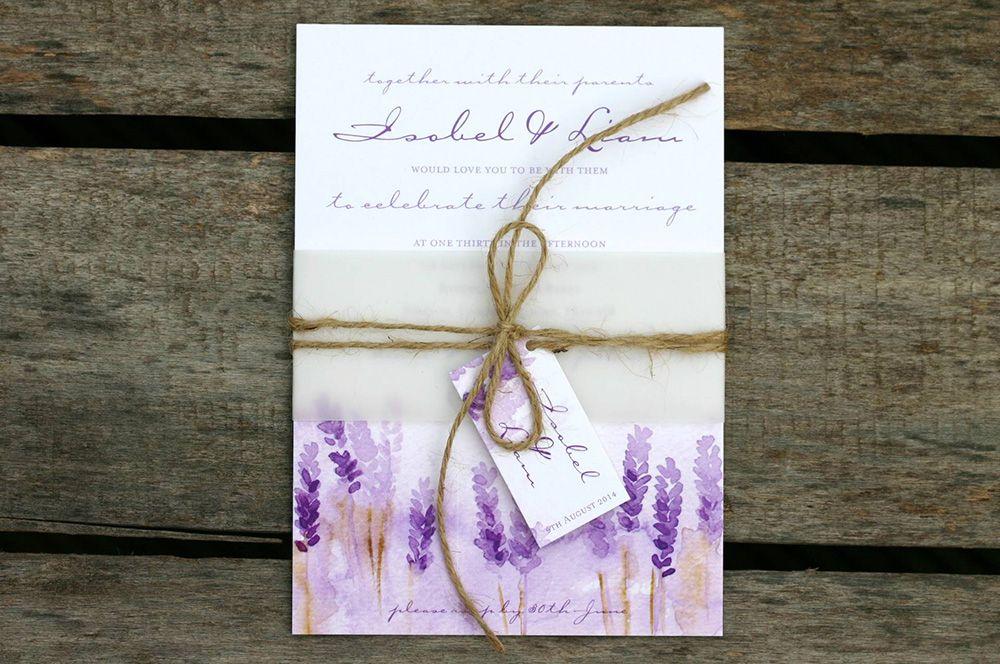 Country Garden Wedding Invitations