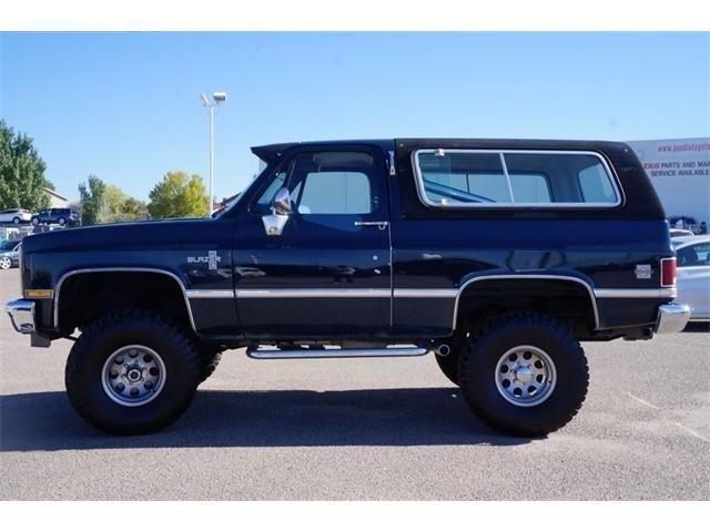 1987 Chevy K5 Blazer 1987 Chevrolet Blazer For Sale Chevrolet Blazer Chevrolet K5 Blazer