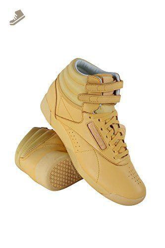784a2ebc42c BS7862 WOMEN FREESTYLE HI CB REEBOK SNEAKERS SUNSHINE YELLOW WHITE - Reebok  sneakers for women ( Amazon Partner-Link)