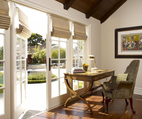 Houzz Home Design Decorating And Remodeling Ideas And Inspiration Kitchen And Bathroo Blinds For French Doors Shades For French Doors French Doors Interior