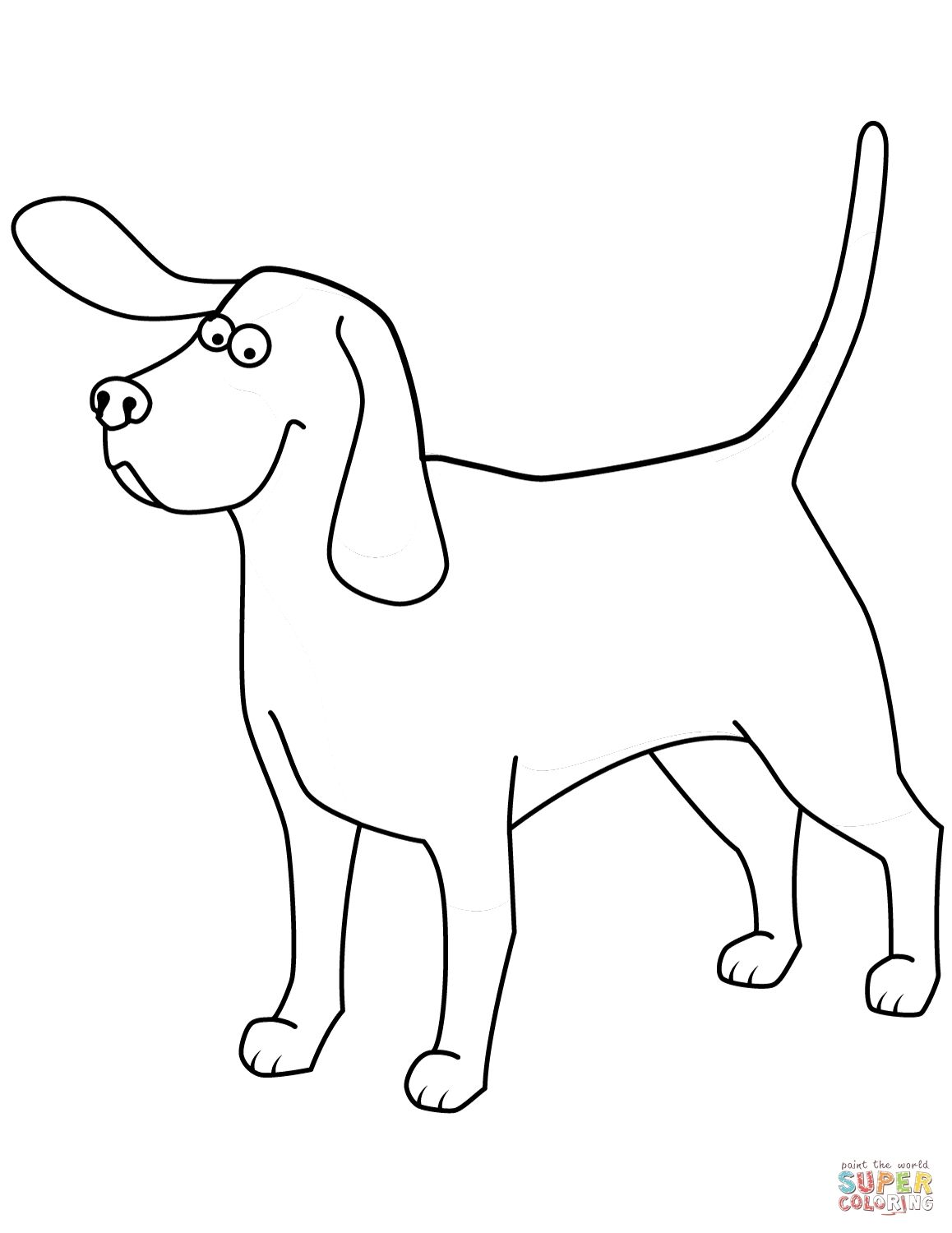 Funny Afghan Hound Coloring Pages Download [ 1500 x 1158 Pixel ]