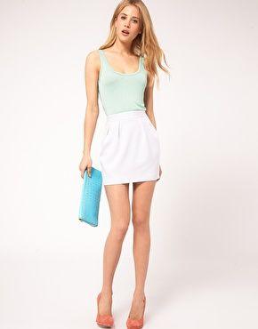 b0356df86 Mini Skirt with Pleats | Clothing | Mini skirts, Mini, Cute skirts