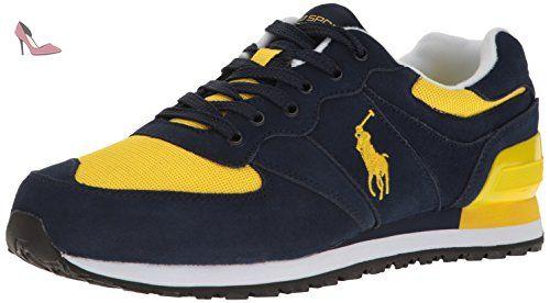 Polo Ralph Lauren Slaton poney Fashion Sneaker (42.5 EU) - Chaussures polo  ralph lauren c708ffffcf0