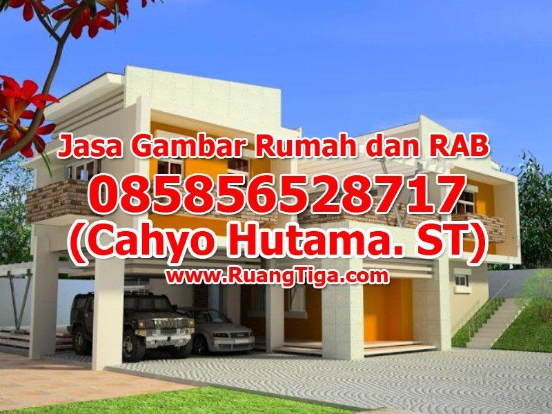 Pin Di 085856528717 Jasa Gambar Rumah Murah Melayani Se Indonesia