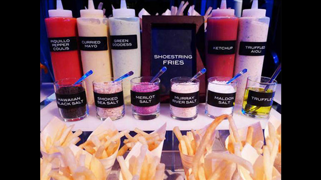 We Love The Idea Of Having A French Fry Bar At A Reception
