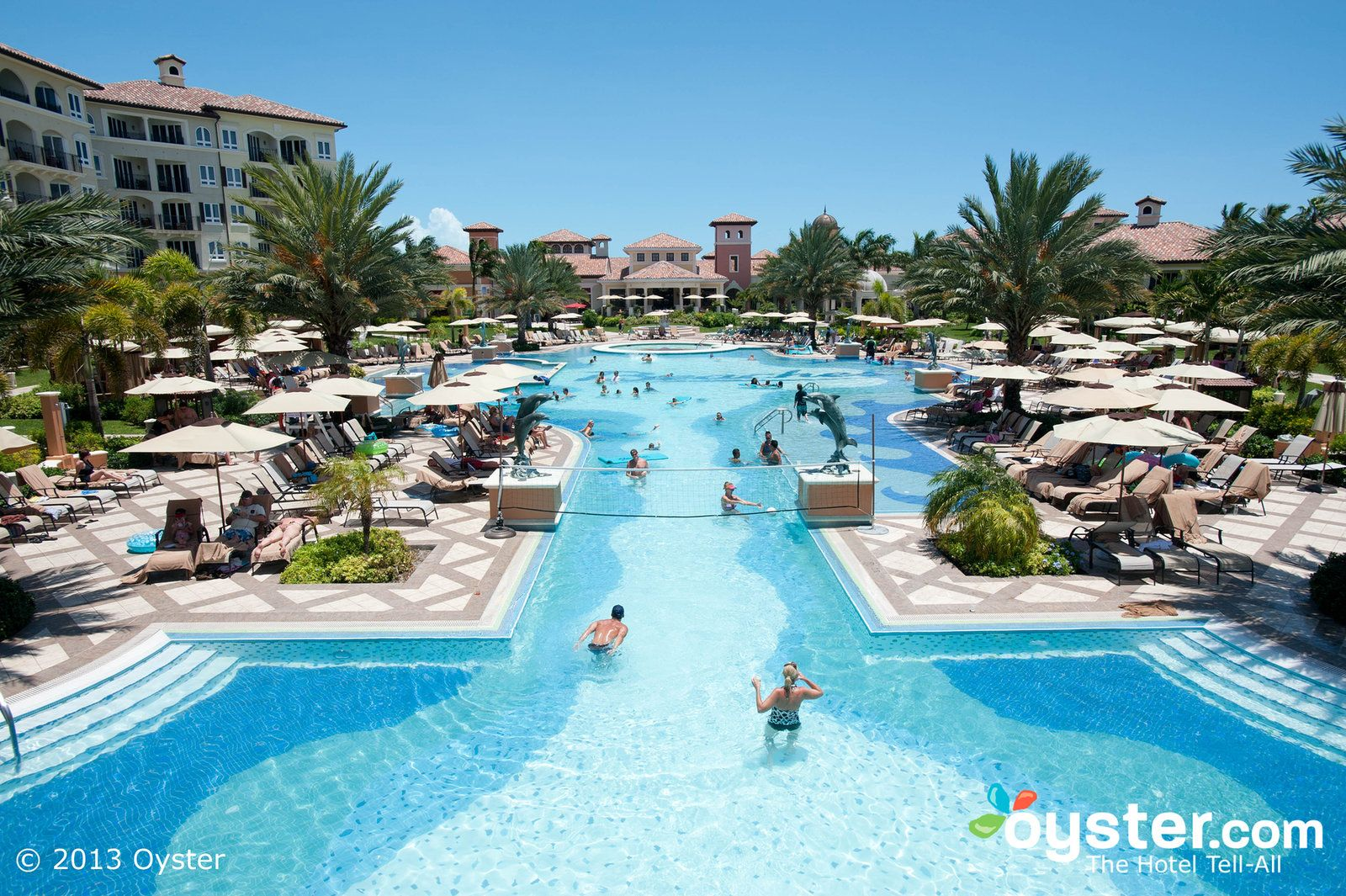 Turks And Caicos Resorts >> The Italian Village Pool At The Beaches Turks And Caicos