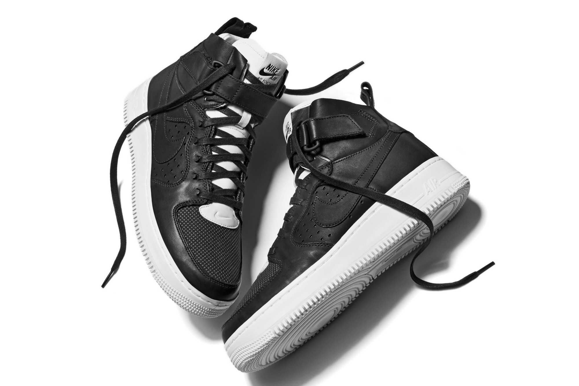 The NikeLab Air Force 1 Tech Craft CMFT Was Unveiled at Rochambeau's